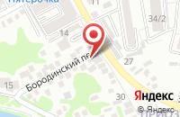 Схема проезда до компании Новое дело в Подольске