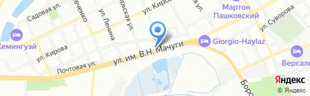 Витязь Рубеж на карте Краснодара
