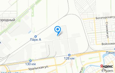 Местоположение на карте пункта техосмотра по адресу г Краснодар, ул Новороссийская, д 61А