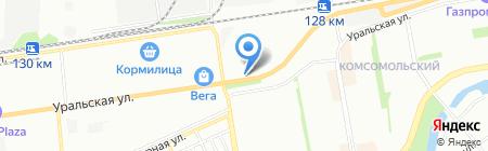 Калитка на карте Краснодара