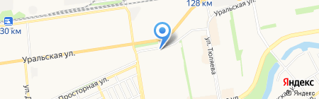 Пашковский хлеб на карте Краснодара