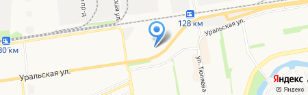 Артель-Стеллаж на карте Краснодара