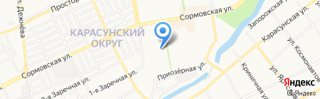Детский сад №201 Планета детства на карте Краснодара