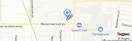 Индустриальный на карте Краснодара