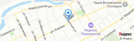 Детский сад №53 Солнышко на карте Краснодара