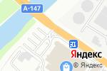 Схема проезда до компании Qiwi в Туапсе