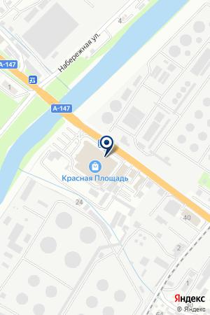 АВТОМАГАЗИН АВТОСПЕЦЦЕНТР на карте Туапсе