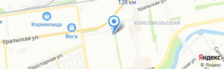 Библиотека №17 им. Н.А. Островского на карте Краснодара