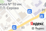 Схема проезда до компании Олимпия в Туапсе