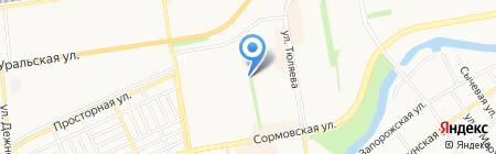 Мобисат на карте Краснодара