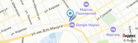 ЮгЭлектроСистема на карте Краснодара