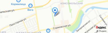 Ева на карте Краснодара
