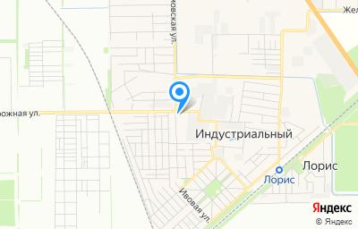 Местоположение на карте пункта техосмотра по адресу г Краснодар, п Индустриальный, ул Магаданская, д 66