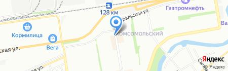 Ювелирная мастерская на ул. Тюляева на карте Краснодара