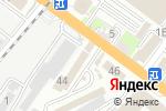 Схема проезда до компании Стройновация в Туапсе
