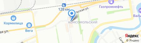 Сараби на карте Краснодара