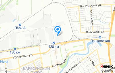 Местоположение на карте пункта техосмотра по адресу г Краснодар, ул им. Тюляева, д 53