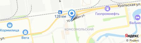 Карат-Ltd на карте Краснодара