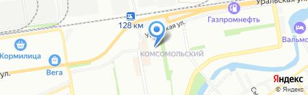 Детский сад №211 на карте Краснодара