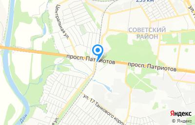 Местоположение на карте пункта техосмотра по адресу г Воронеж, пр-кт Патриотов, д 67Г