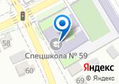 Специальная коррекционная школа №59, ГБОУ на карте
