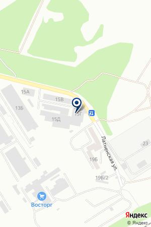 Автом-2 на карте Воронежа