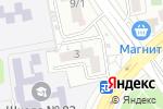 Схема проезда до компании Ромашка в Краснодаре