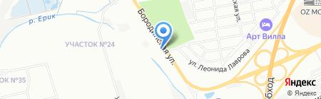 Трек на карте Краснодара