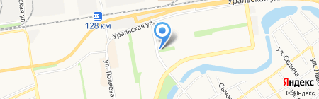 Жю тем на карте Краснодара