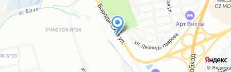 Konsanto на карте Краснодара