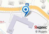 Школа-интернат на карте