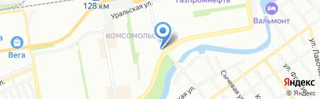 Аптека на ул. 30 Иркутской Дивизии на карте Краснодара