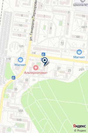 Участковый пункт полиции №53 на карте Воронежа