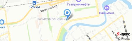 АСТ-ИнженерМонтаж на карте Краснодара