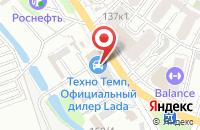 Схема проезда до компании Бит-Плюс в Краснодаре