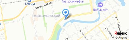 Дорадо на карте Краснодара