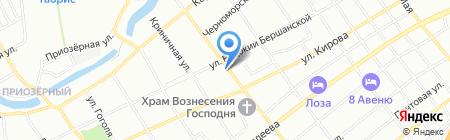 Шашлык-машлык на карте Краснодара