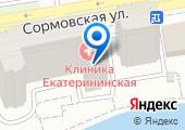Клиника Екатерининская на карте