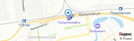 Катрин на карте Краснодара