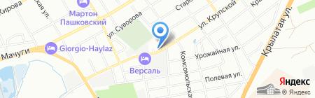 Подшипник.ру Юг на карте Краснодара