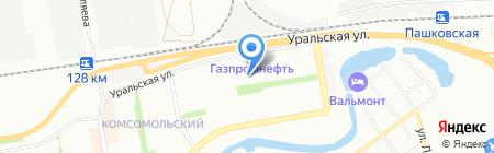 Детский сад №214 на карте Краснодара