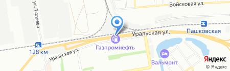 Динамика на карте Краснодара