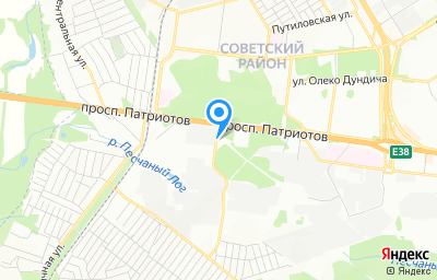 Местоположение на карте пункта техосмотра по адресу г Воронеж, пр-кт Патриотов, д 45Б