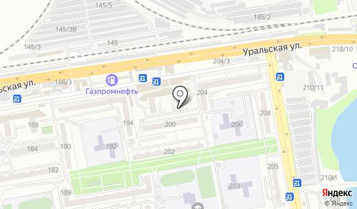 Магнит. Схема проезда в Краснодаре