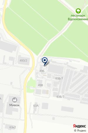 Рик-авто на карте Воронежа