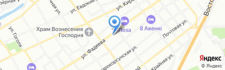 Ola studio на карте Краснодара