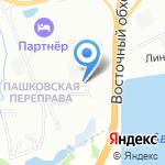 Гранит на карте Краснодара