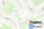 Схема проезда до компании Продуктовый магазин в Воронеже