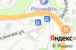Схема проезда до компании Продуктовый магазин в Кроянском