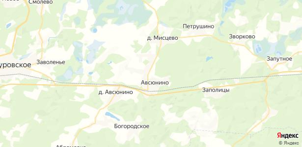 Новое Титово на карте